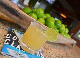 Margarita met komkommer en peper