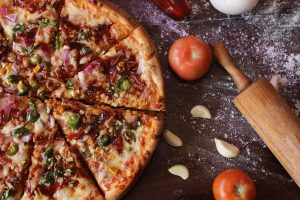 knoflook pizza