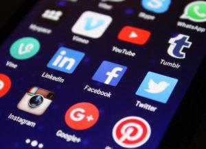 Populairste social media platforms