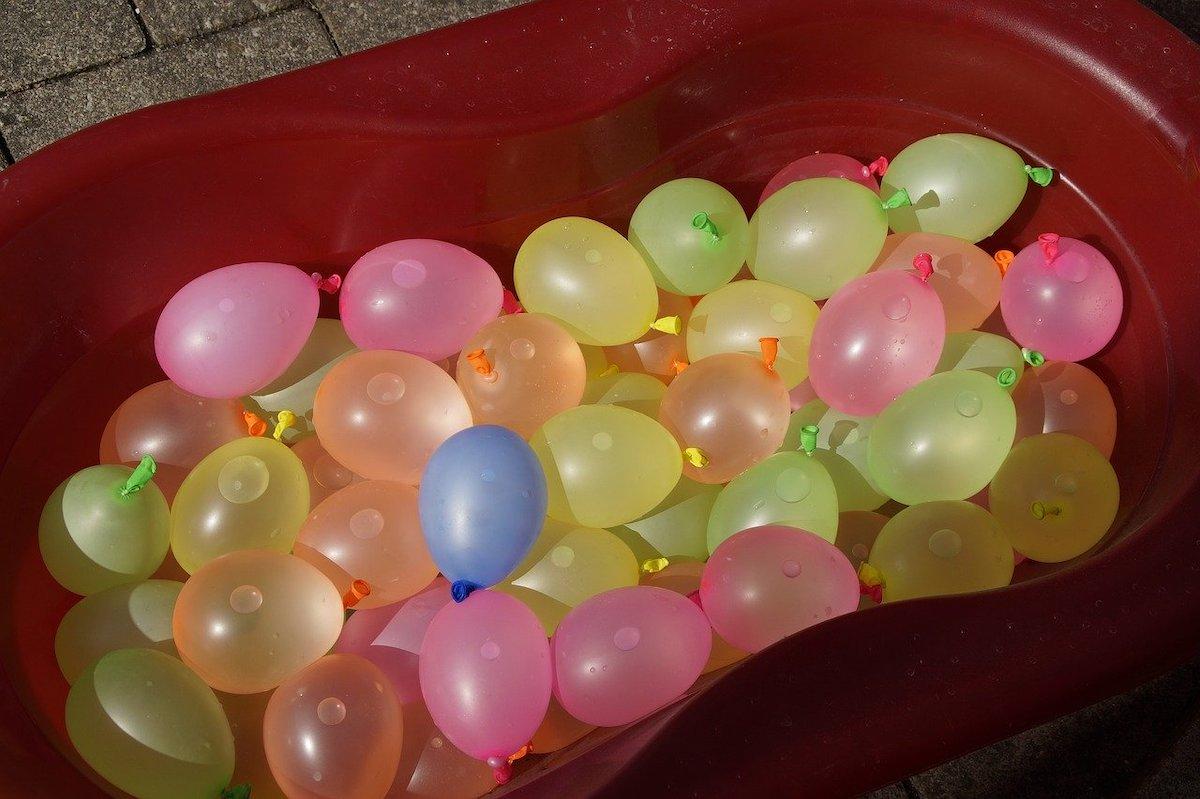 Watergevecht waterballonnen
