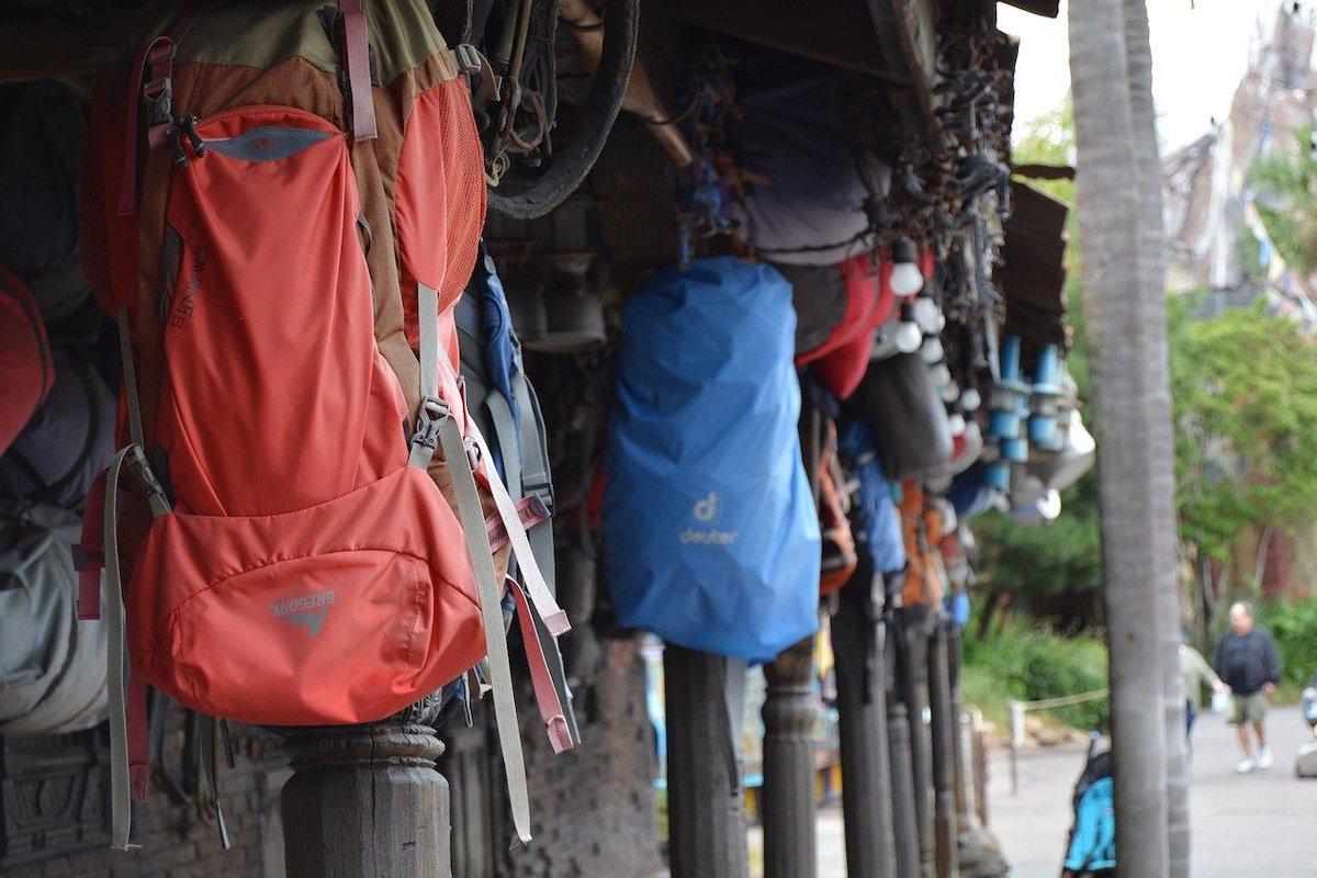 Backpack reizen
