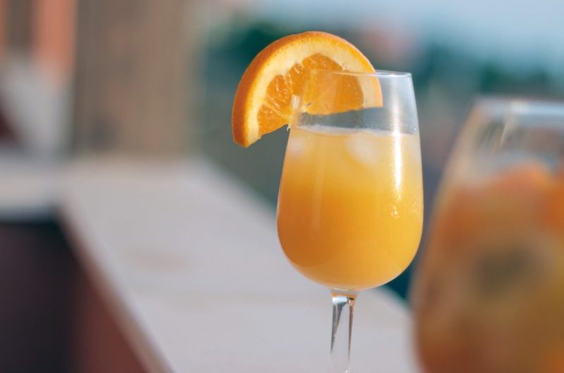 Mimosa cocktail recept