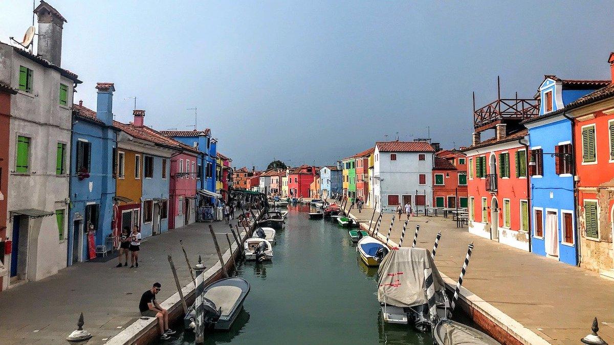 Meest kleurrijke steden Venetië