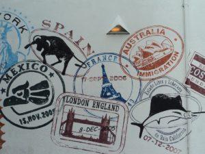 Paspoort reisdocumenten