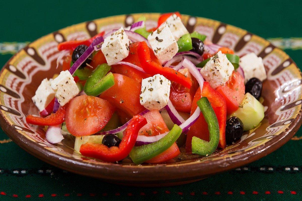 Typische Grieks eten