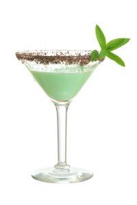 Grasshopper cocktail maken